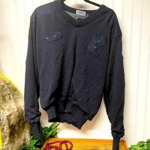 Blauer Commando Chicago Police navy sweater Size L